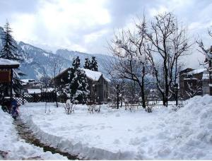 our hotel at manali