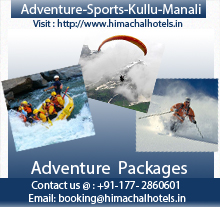 Adventure sports kullu manali